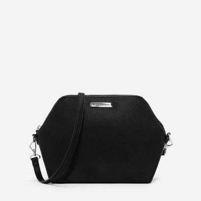 ヘキサゴンクロスボディバッグ / HEXAGONAL CROSSBODY BAG (Black)