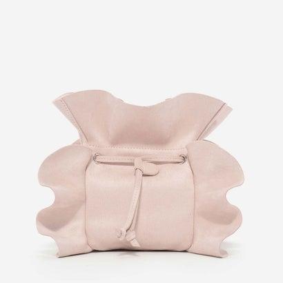 ラッフルディテールスリングバッグ / RUFFLE DETAIL SLING BAG (Nude)