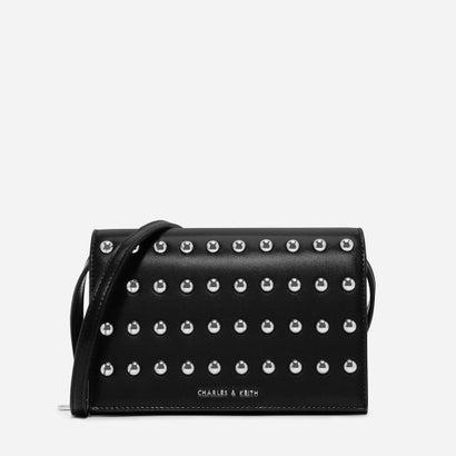 エンベリッシュドスリングバッグ / EMBELLISHED SLING BAG (Black)