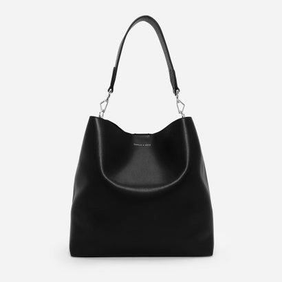 ベーシックホーボーバッグ / BASIC HOBO BAG (Black)
