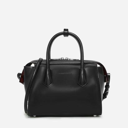 ダブルジップストラクチャードバッグ / DOUBLE ZIP STRUCTURED BAG (Black)