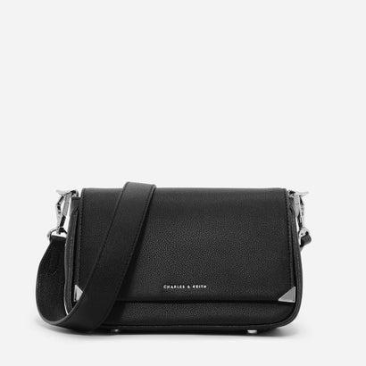 メタルチップスリングバッグ / METALLIC TIP SLING BAG (Black)