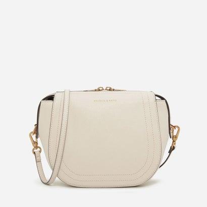 ステッチディテールスリングバッグ / STITCHED DETAIL SLING BAG (Ivory)