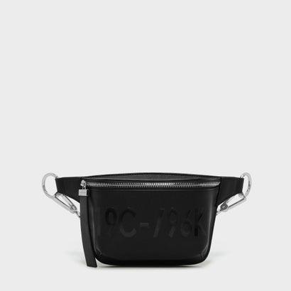 フロントジップスリングバッグ / FRONT ZIP SLING BAG (Black)