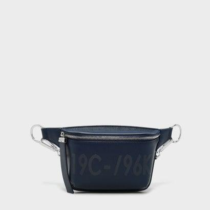 フロントジップスリングバッグ / FRONT ZIP SLING BAG (Navy)