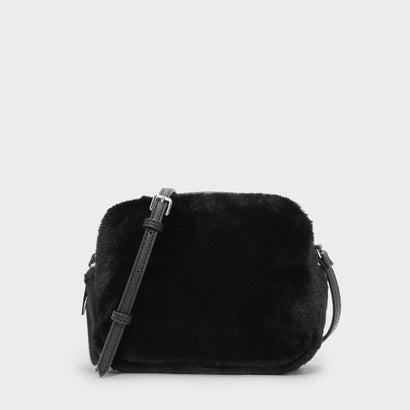 ファーリースリングバッグ / FURRY SLING BAG (Black)