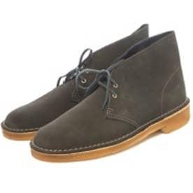 クラークス Clarks Desert Boot / デザートブーツ (ローデングリーンスエード)
