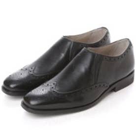 クラークス Clarks Amieson Slip  Black Leather (ブラック)