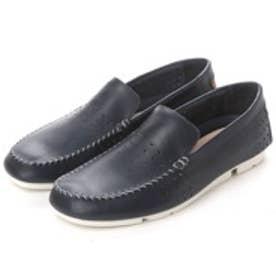 クラークス Clarks Trimocc Sun Navy Leather / トライモックサン(ブルー)