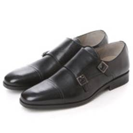 クラークス Clarks Amieson Monk  Black Leather (ブラック)