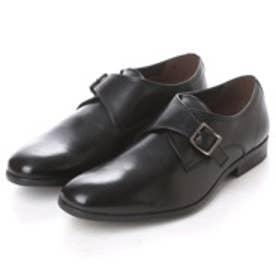 クラークス Clarks Banfield Monk Black Leather (ブラック)