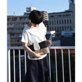 クーコ COOCO パールカブセ3WAYクラッチバッグ (ブラック)