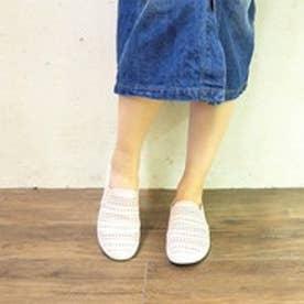 アシナガオジサン あしながおじさん スリッポンスニーカー (ピンク)