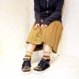 バイアシナガオジサン BY あしながおじさん タウンスニーカー (ネイビーコンビ)