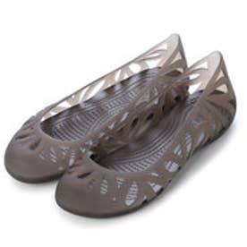 クロックス crocs フローラルカットフラットシューズ 14936 (エスプレッソ)