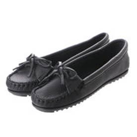 ミネトンカ Minne Tonka MINNETONKA KILTY SMOOTH MOC (BLACK)