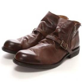ヴァリジスタ VARISISTA ダブルジップベルト付ブーツ(DARK BROWN)