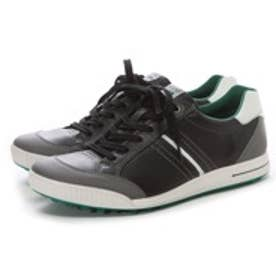 エコー ECCO MEN'S GOLF STREET(BLACK/SHADOW WHITE/PURE GREEN)