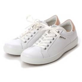 エコー ECCO ECCO MEN'S GOLF CASUAL HYBRID (WHITE)