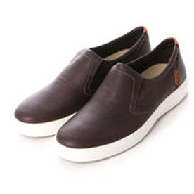 エコー ECCO ECCO Mens Soft 7 Slip On (COFFEE)