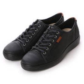 エコー ECCO ECCO Mens Soft 7 Sneaker (BLACK/BLACK)