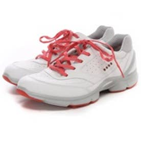 エコー ECCO BIOM EVO TRAINER(WHITE/POPPY)
