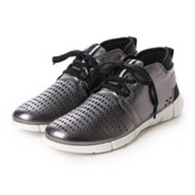 エコー ECCO ECCO Womens Intrinsic Chukka (DARK SHADOW METALLIC)