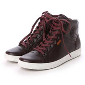 エコー ECCO ECCO Womens Soft 7 High Top (BORDEAUX)