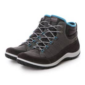 エコー ECCO ECCO Womens Aspina GTX High (MOONLESS/DARK SHADOW)