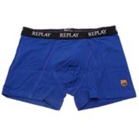 【返品不可商品】リプレイ REPLAY FCバルセロナモデル ストレッチコットンパンツ (ブルー)