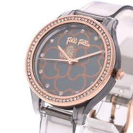 フォリフォリ Folli Follie JELLY WATCH SANTORINI FLOWER EDITION (アッシュグレー)