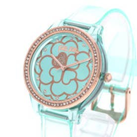 フォリフォリ Folli Follie JELLY WATCH SANTORINI FLOWER EDITION (エメラルドグリーン)