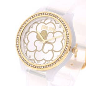 フォリフォリ Folli Follie JELLY WATCH SANTORINI FLOWER EDITION (リネンホワイト)