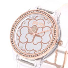 フォリフォリ Folli Follie JELLY WATCH SANTORINI FLOWER EDITION (クリスタルクリア)