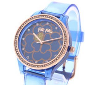 フォリフォリ Folli Follie JELLY WATCH SANTORINI FLOWER EDITION (マリンブルー)