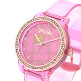 フォリフォリ Folli Follie JELLY WATCH SANTORINI FLOWER EDITION (フューシャピンク)