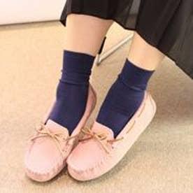 フィン Fin 【低反発スポンジ入り】カラーモカシン (ピンク)