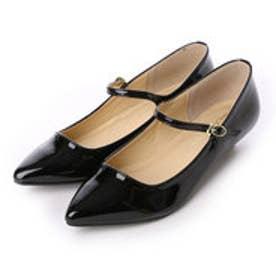 クリアインプレッション CLEAR IMPRESSION ストラップパンプス革靴 (クロ)