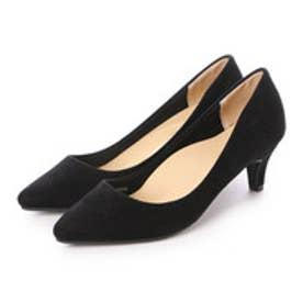 クリアインプレッション CLEAR IMPRESSION プレーンパンプス革靴 (スミクロ)