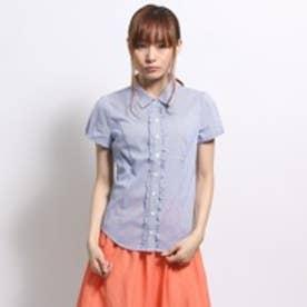 クリアインプレッション CLEAR IMPRESSION シャツ(ブルー)