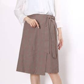 クリアインプレッション CLEAR IMPRESSION C/TEN/Wサキソショートスカート (チャ)