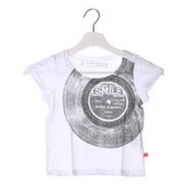フェリシモサーカス FelissimoCircus LOVE&PEACEメッセージTシャツ アーティストシリーズ02:Leyonaさん〈キッズ〉 (ホワイト)