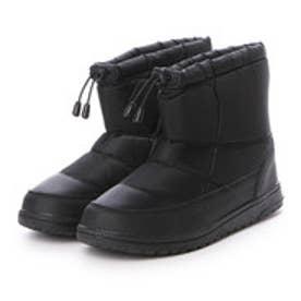 ブラッチャーノ Bracciano 4cm防水、防滑スノーブーツ (BLACK)