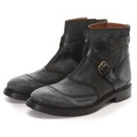 ブッテロ BUTTERO Ddouble Belt Boot(BLACK)