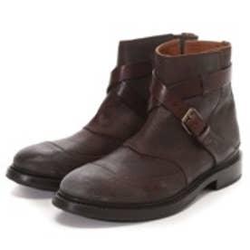 ブッテロ BUTTERO Ddouble Belt Boot(D/BROWN)