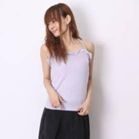 リズリサ LIZ LISA 肩レースクロスシャギー (Purple)
