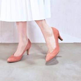 エンチャンテッド enchanted 本革プレーンパンプス (ピンク)