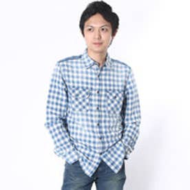 ゲス GUESS L/S UNIVERSITY CHECK SHIRT (D905)