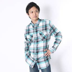 ゲス GUESS L/S SILVERLAKE PLAID SHIRT (G801)