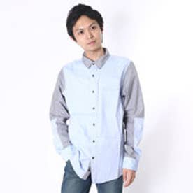 ゲス GUESS L/S DANE MIXED SHIRT (PHTM)
